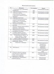 Методические сборники, выпущенные МОУ ДОД Центром детского творчества